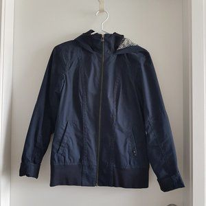 Simons Twik Navy Thin Hooded Jacket
